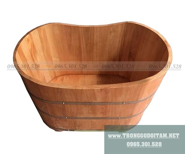 bồn tắm gỗ ngâm thuốc đặc chủng