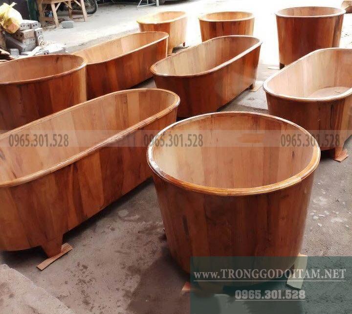 bán bồn tắm bằng gỗ ngọc am chuẩn Hà Giang
