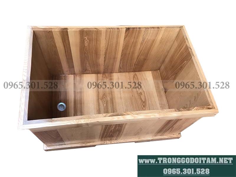 bán bồn tắm gỗ giả rẻ