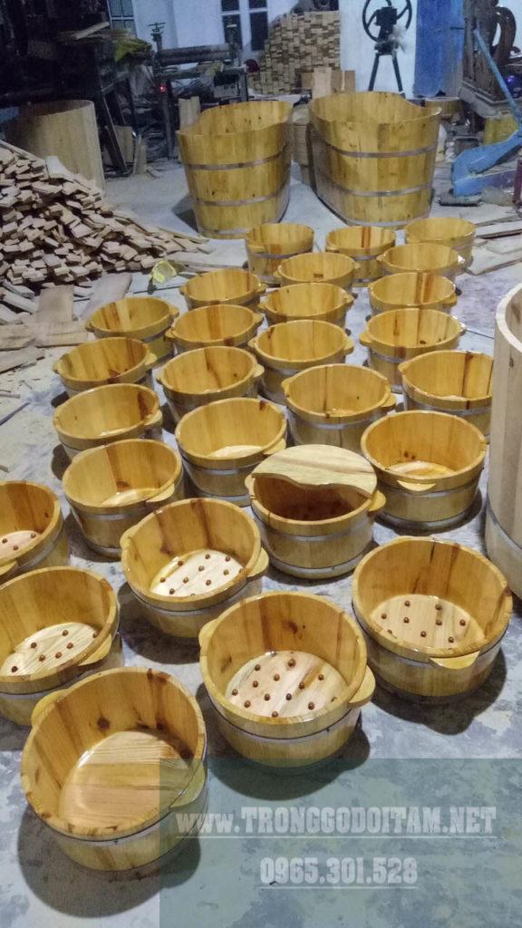 Chuyên phân phối số lượng sỉ và lẻ chậu gỗ, xưởng sản xuất trực tiếp