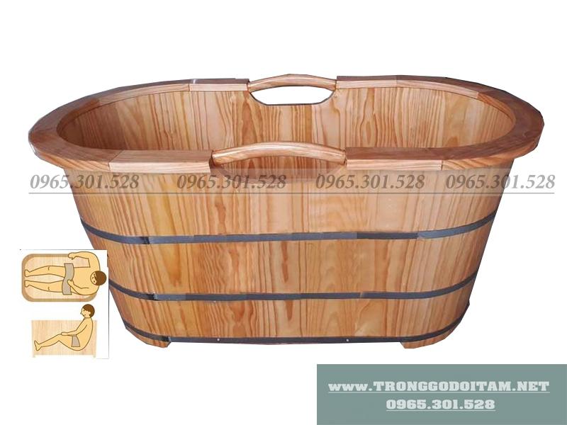 bán thùng tắm bằng gỗ cực kì thông dụng
