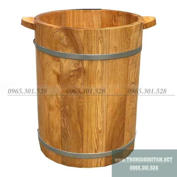 Bán thùng gỗ ngâm chân chuyên dụng ngâm thuốc bắc, thảo dược