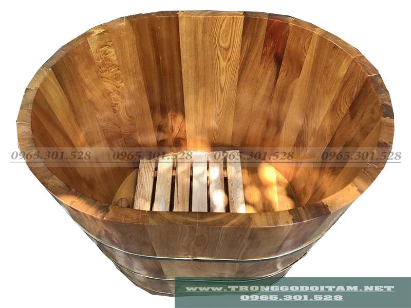 bán bồn tắm gỗ mini cở nhỏ