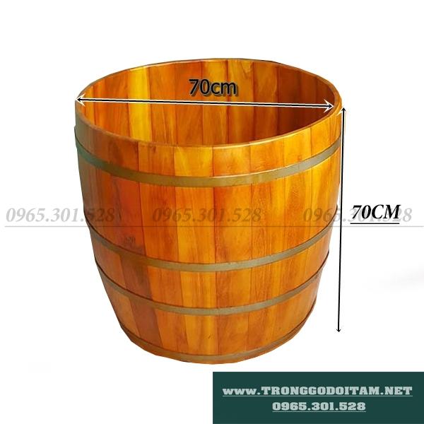 bồn tắm gỗ lõi mít bền vĩnh cửu