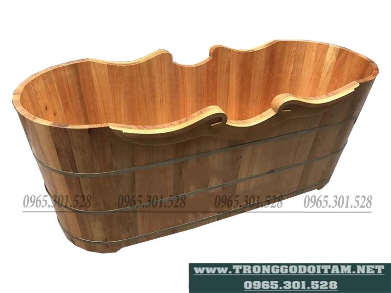 bán bồn tắm gỗ pơ mu xịn 100%