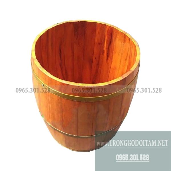 chậu tắm gỗ cho trẻ em