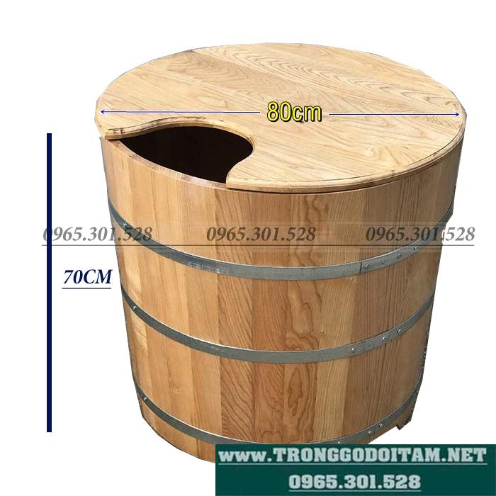 giá tiền bồn tắm gỗ xông hơi