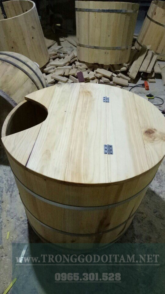 địa chỉ bán bồn tắm gỗ xông hơi uy tín chất lượng
