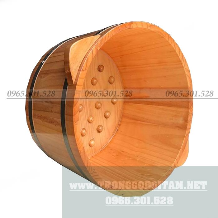 Chậu gỗ ngâm chân giá rẻ, chất lượng