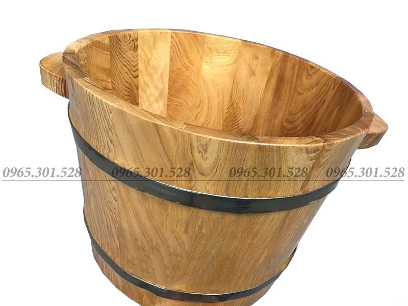 chậu gỗ ngâm chận tại hà nội