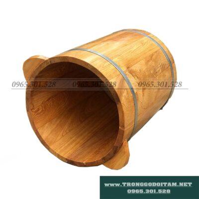 chậu gỗ ngâm thuốc bắc
