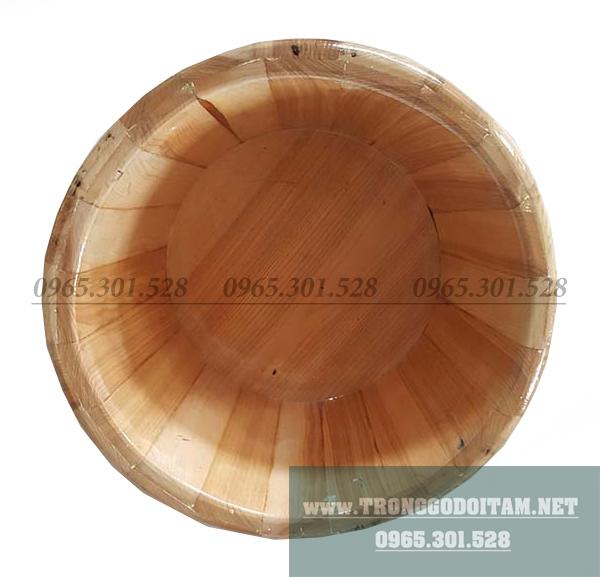 Bán chậu ngâm chân bằng gỗ Sồi chất lượng cao