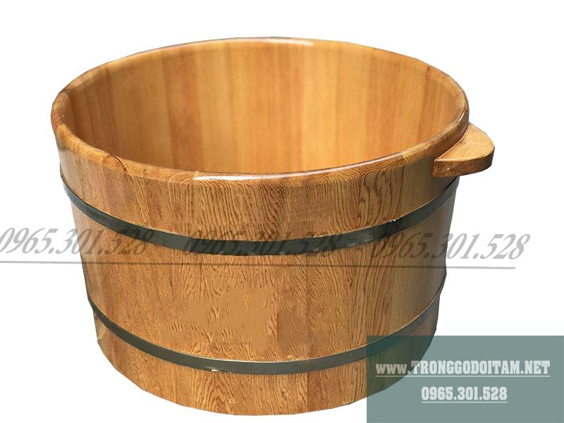 Bán chậu ngâm mông bằng gỗ Pơ Mu