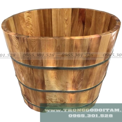 bồn tắm gỗ cho trẻ em