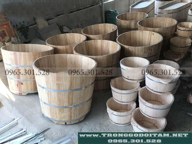 xưởng sản xuất bồn tắm gỗ cho các spa, khách sạn trên toàn quốc