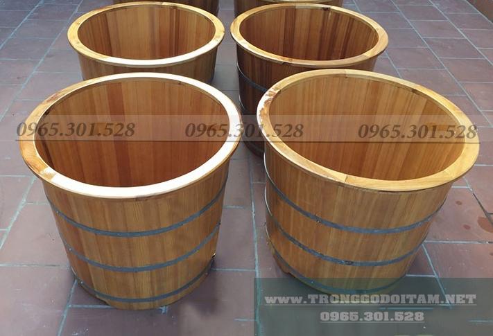 đại lý bán bồn tắm gỗ