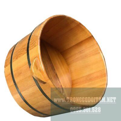 Bán chậu ngâm mông, chậu gỗ ngâm chân, bồn tắm gỗ Pơ Mu tại Hà Nội và TP HCM