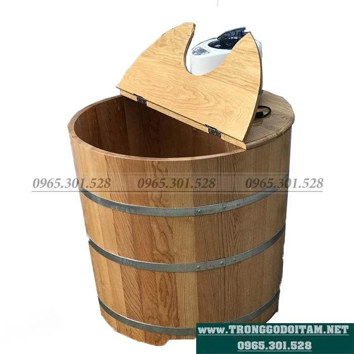 giá thùng gỗ xông hơi