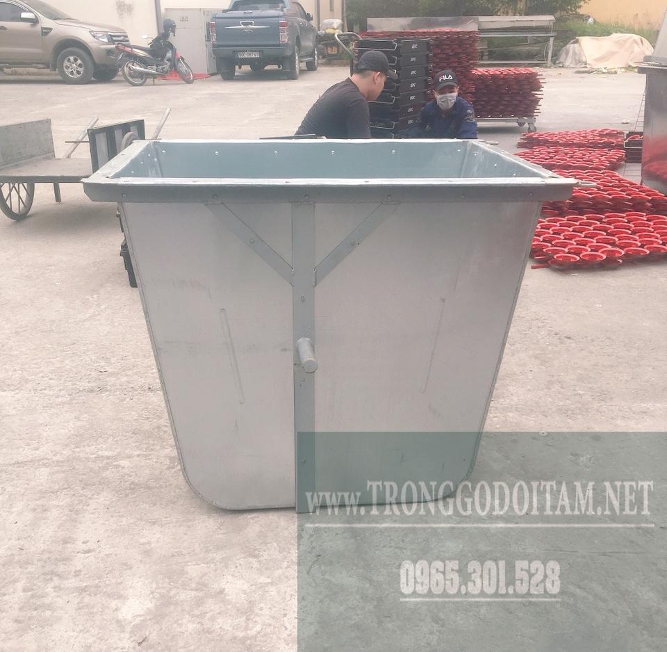 thùng xe gom rác