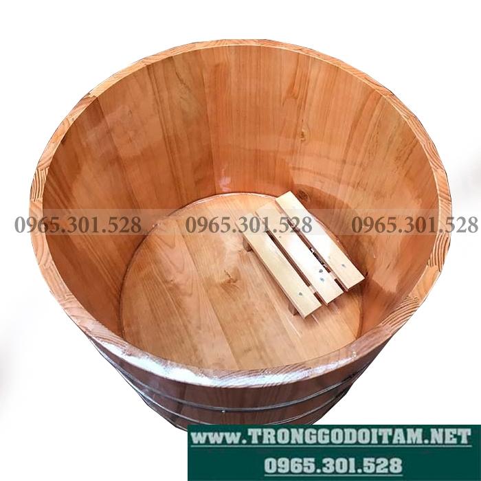 Bán Thùng tắm bằng gỗ Thông ngâm thuốc
