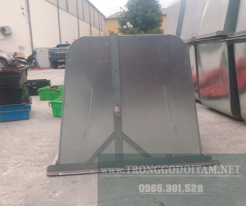 thùng xe gom rác 500l
