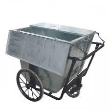 xe gom rác 500l có nắp