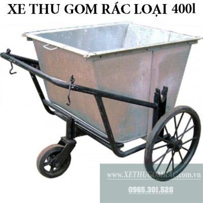 xưởng sản xuất xe gom rác 400l tôn