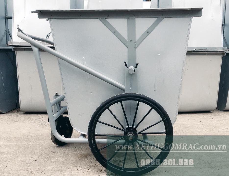 xe gom rác 500l tôn