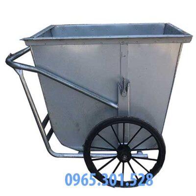 xe gom rác tôn giá rẻ