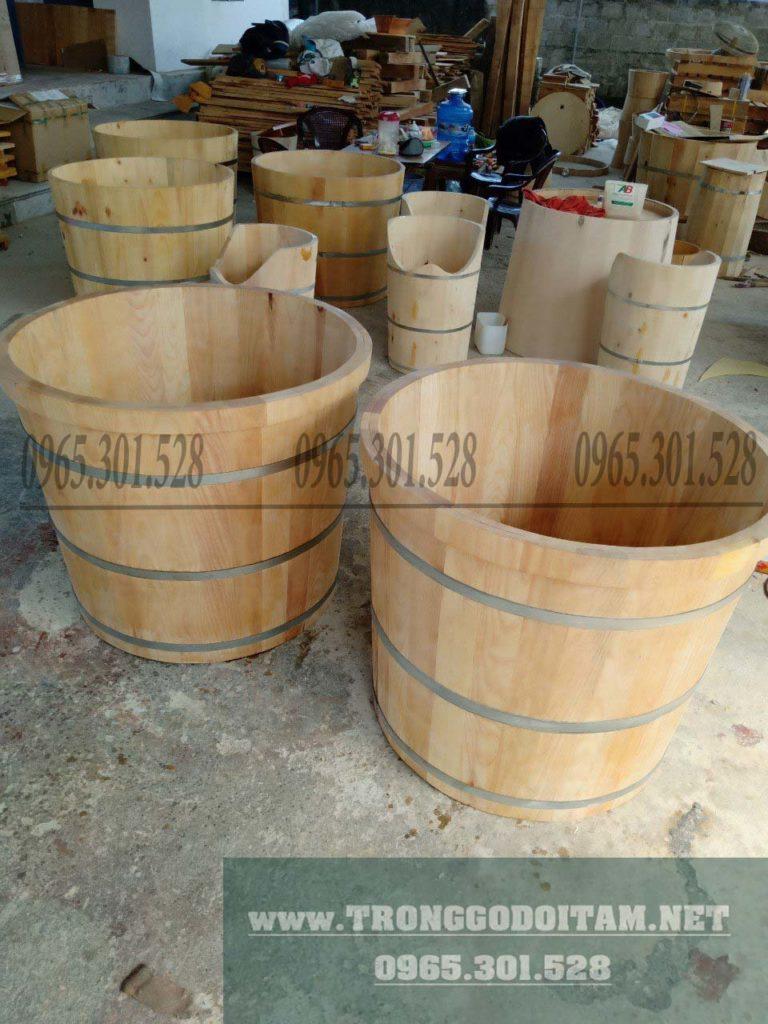 xưởng sản xuất bồn tắm gỗ chuyên cấp cho các đại lý