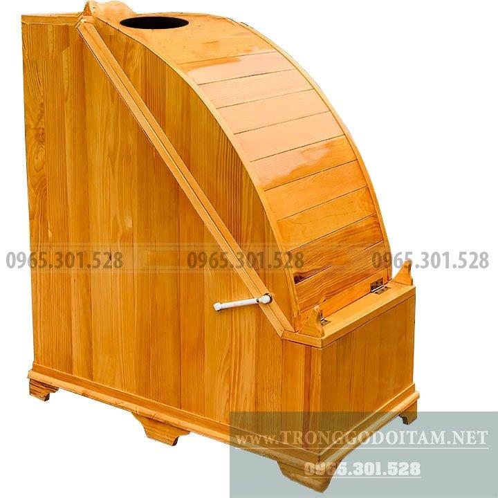 Thùng gỗ xông hơi Spa độc đáo, sử dụng được tại nhà