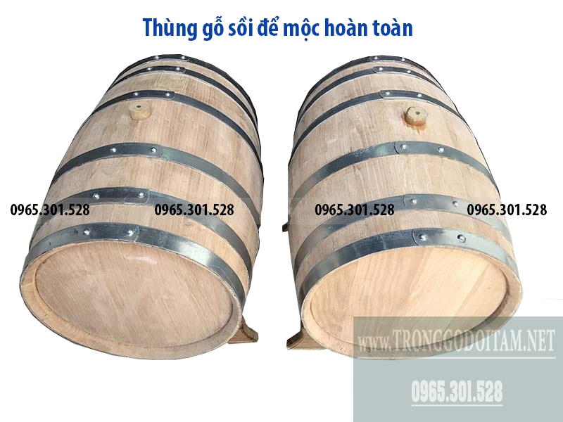 Cơ sở sản xuất thùng rượu gỗ sồi việt nam uy tín chất lượng. Có giấy bảo hành