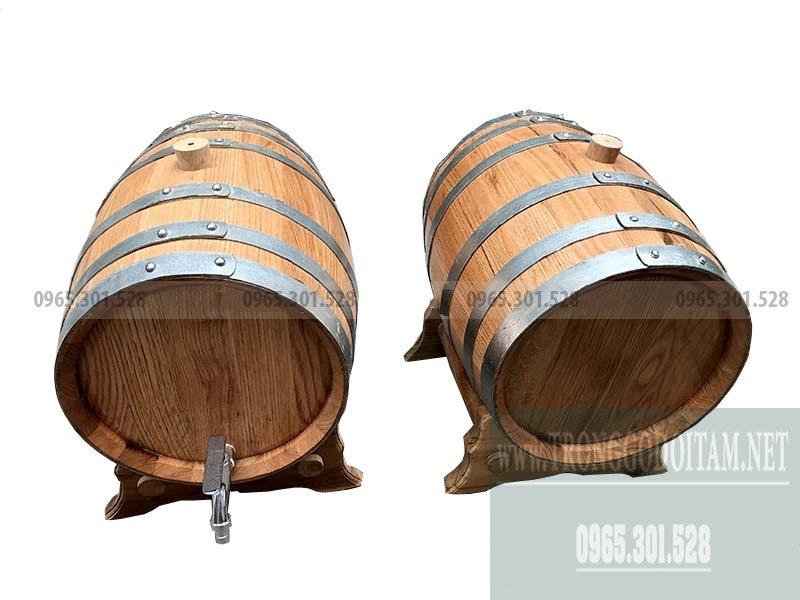 bán thùng gỗ sồi nhập khẩu