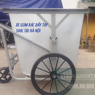 báo giá xe gom rác 500l