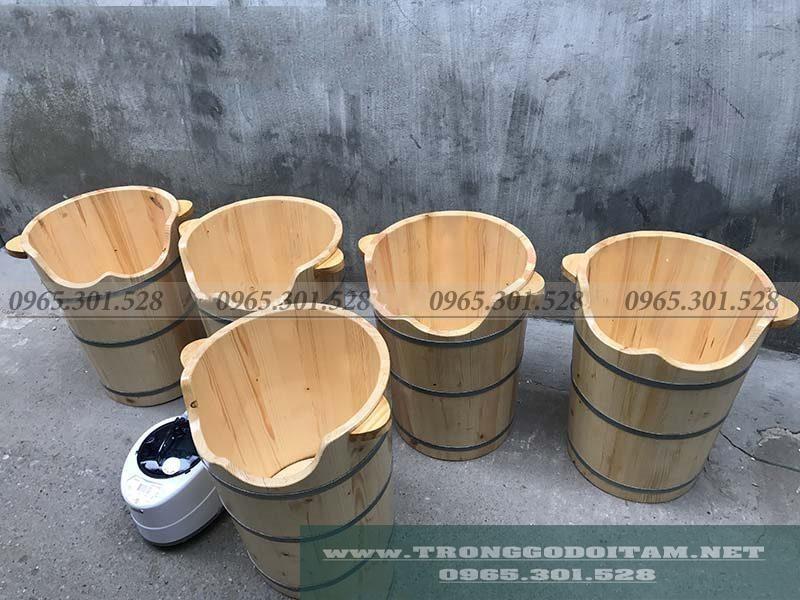 Chuyên phân phối sỉ lẻ chậu ngâm chân gỗ Pơ Mu, gỗ Thông, đảm bảo chất lượng uy tín. Lỗi rò gỉ được đổi mới