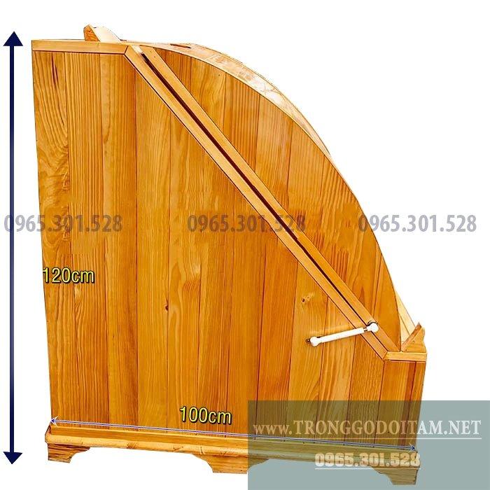 Bán bồn tắm gỗ Thông, chậu ngâm chân bằng gỗ