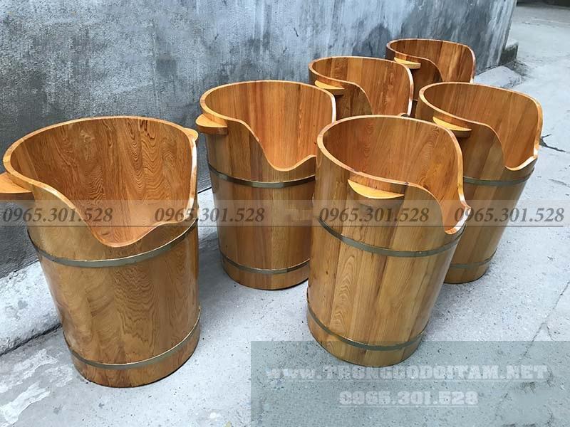 Bán chậu gỗ ngâm chân, thùng gỗ xông hơi chân sỉ và lẻ trên toàn quốc
