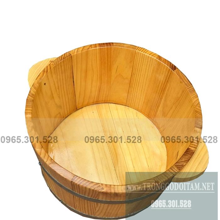 Thùng ngâm chân bằng gỗ giá rẻ