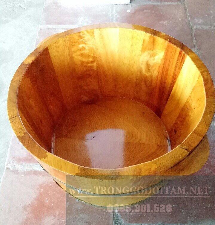 Chậu ngâm chân gỗ Thông giá rẻ, chất lượng cao và mẫu mã đẹp