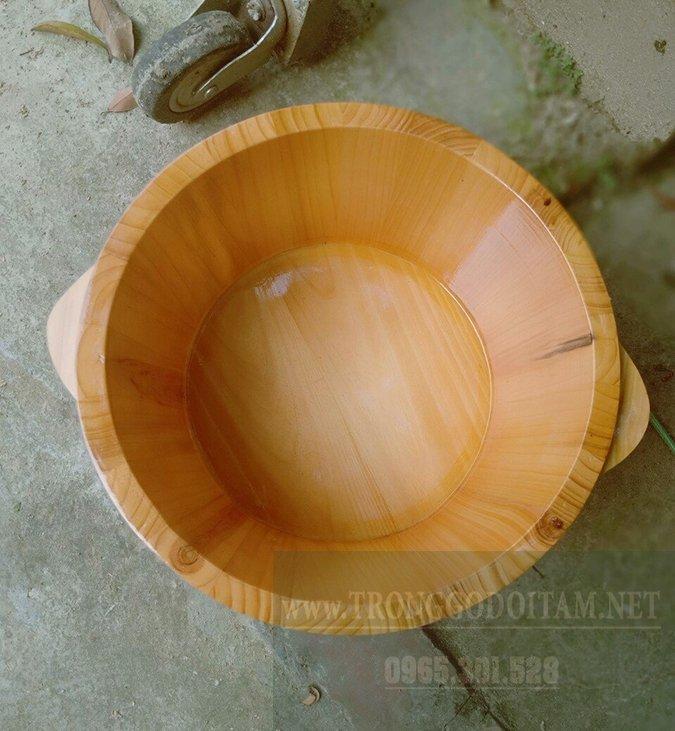 bán chậu gỗ thông giá rẻ giao hàng toàn quốc