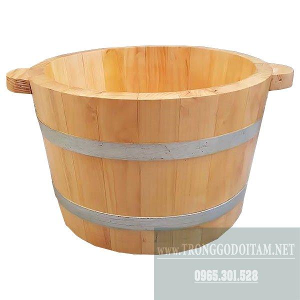 Bán chậu ngâm chân gỗ Thông giá rẻ
