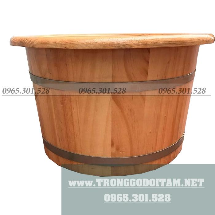 địa chỉ bán thùng ngâm chân bằng gỗ uy tín chật lượng