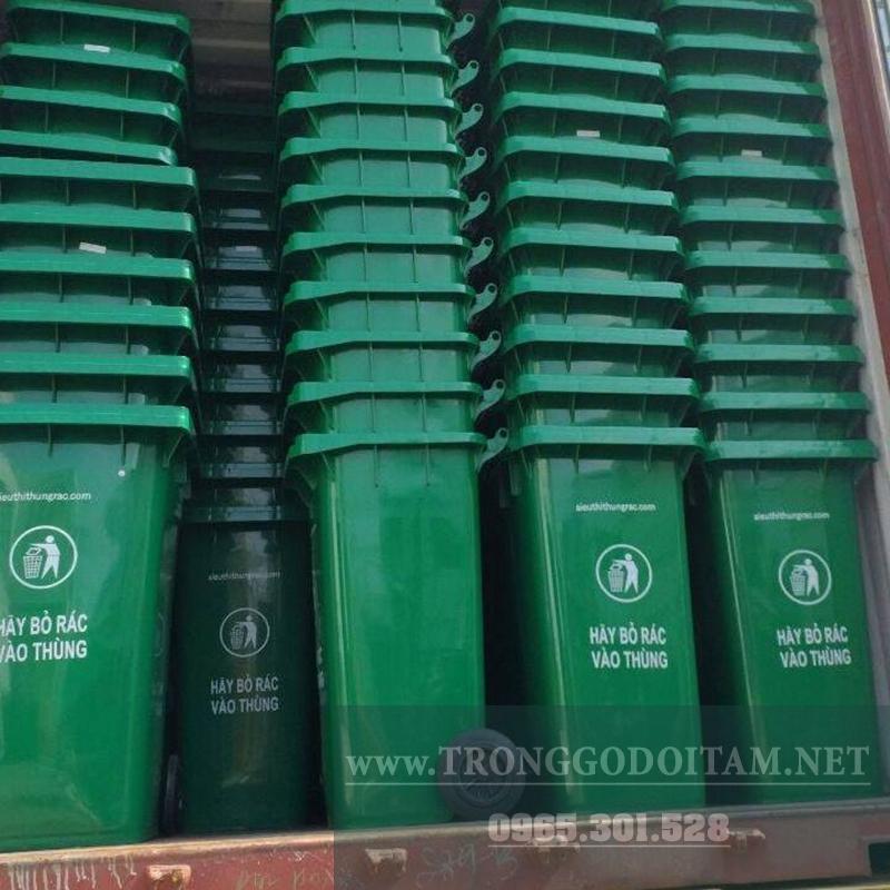xưởng sản xuất chuyên nhập khẩu các loại thùng rác nhựa hpde