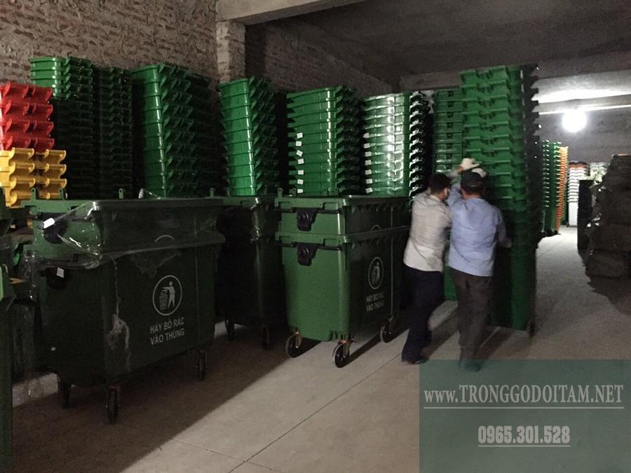 đại lý thùng rác nhựa cung cấp đầy đủ giấy tờ liên quan