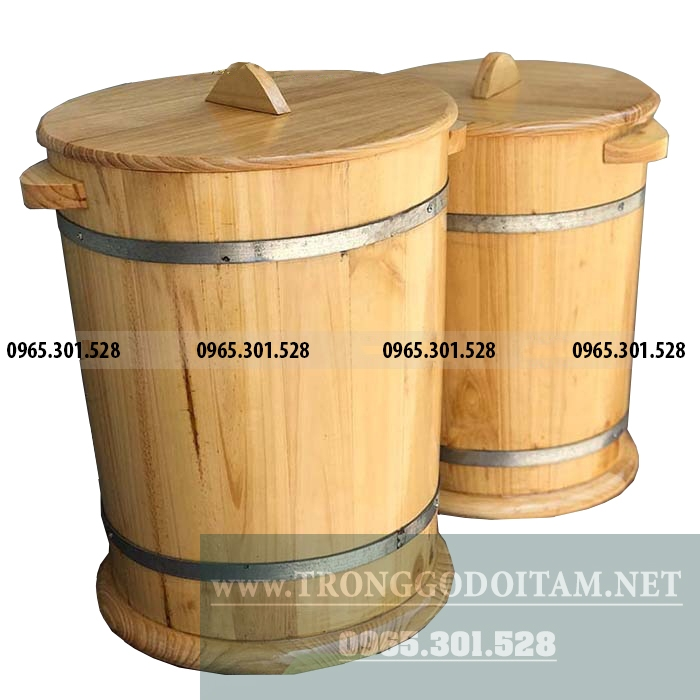 giá bán thùng gạo gỗ