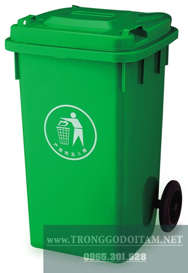 thùng đựng rác nhựa composite 240l