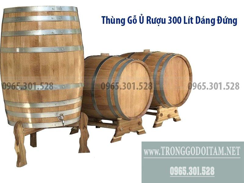 Giá thùng gỗ đựng rượu rẻ hơn thùng nhập khẩu, chất lượng không hề thua kém