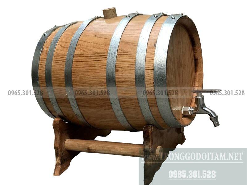 bán thùng thùng gỗ sồi nhập khẩu ngâm rượu 20l, 30, 50, 100l, 200l, 300l