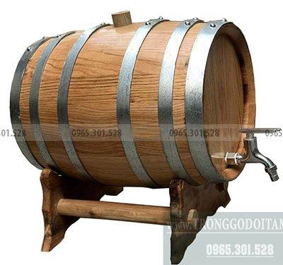 giá bán thùng gỗ sồi nhập khẩu