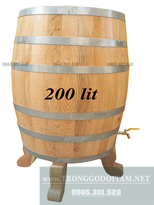 giá thùng gỗ sồi nhập khẩu